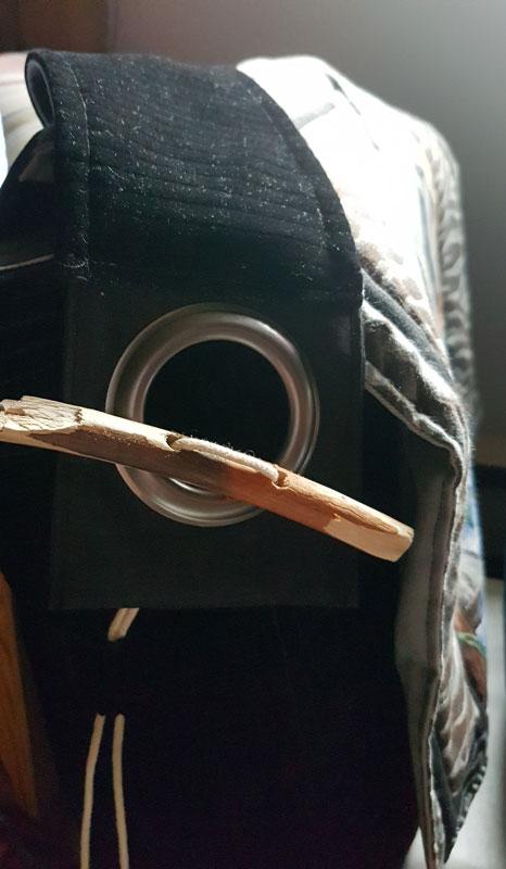 Sac à tambour chamanique